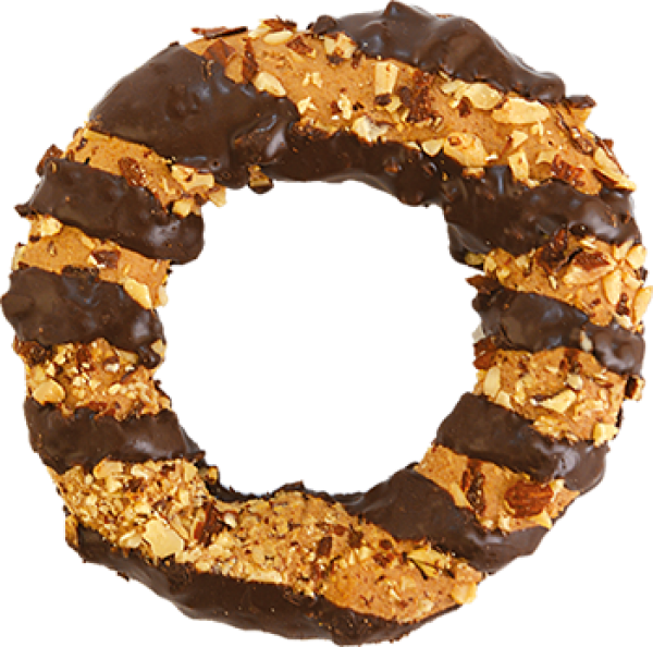 CHOCO ALMOND BISCUIT RING <br /> *ΧΕΙΡΟΠΟΙΗΤΟ*